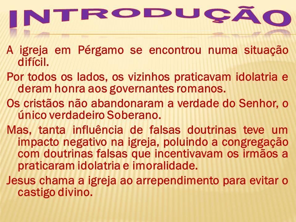1 – Pérgamo, a cidade dos livros e da ignorância espiritual.