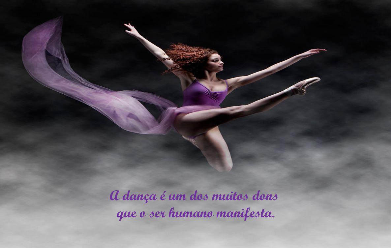 Há quem tenha dom para dança, aliando criatividade na escolha dos passos... Carinho, tato e cooperação, no trato do par.