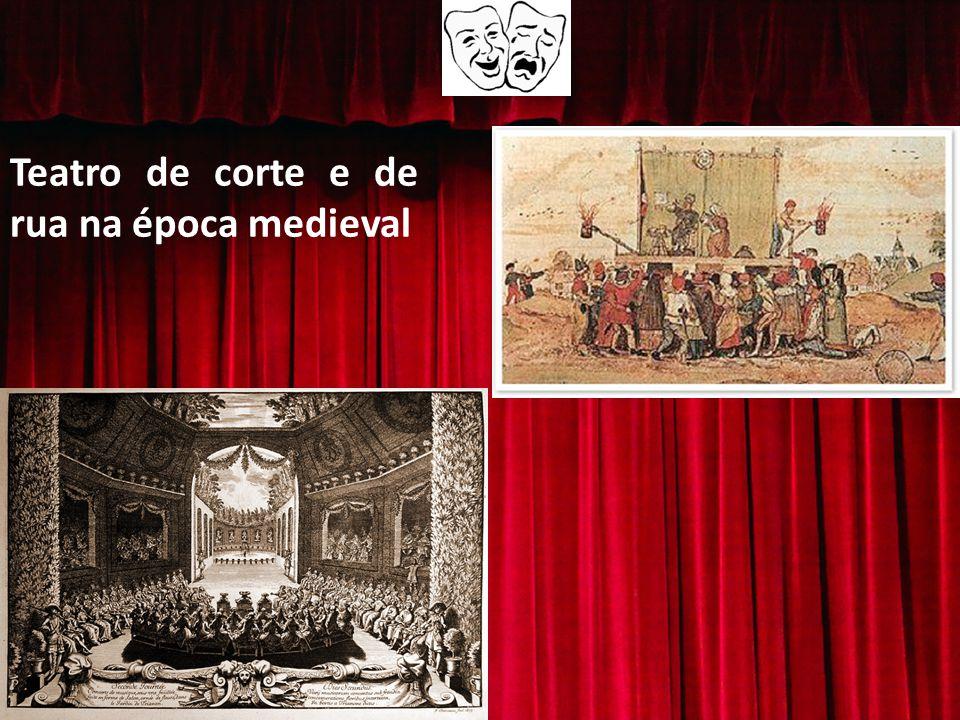 Teatro de corte e de rua na época medieval