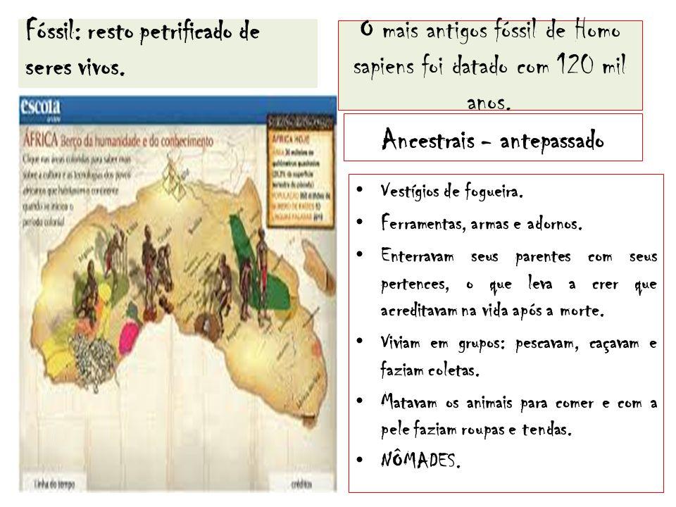 Pré-História: período do aparecimento do homem até a invenção da escrita.