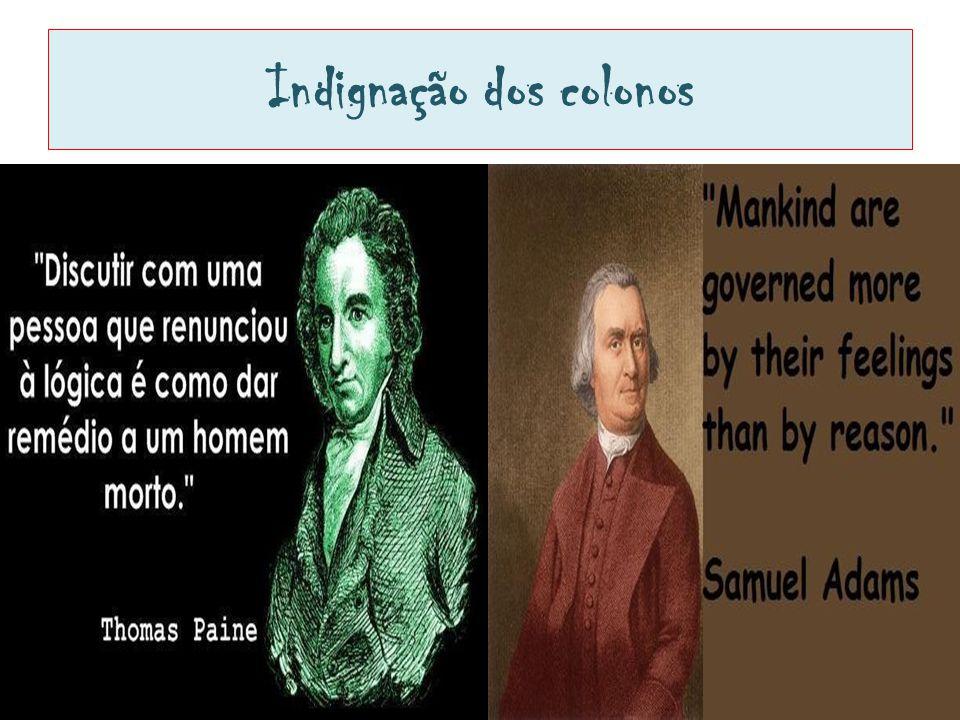 Indignação dos colonos