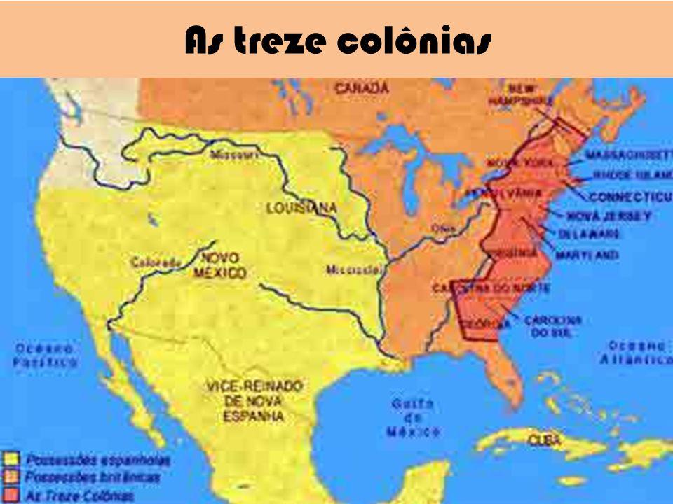 As treze colônias