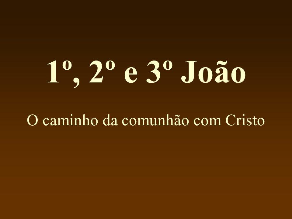 1º, 2º e 3º João O caminho da comunhão com Cristo