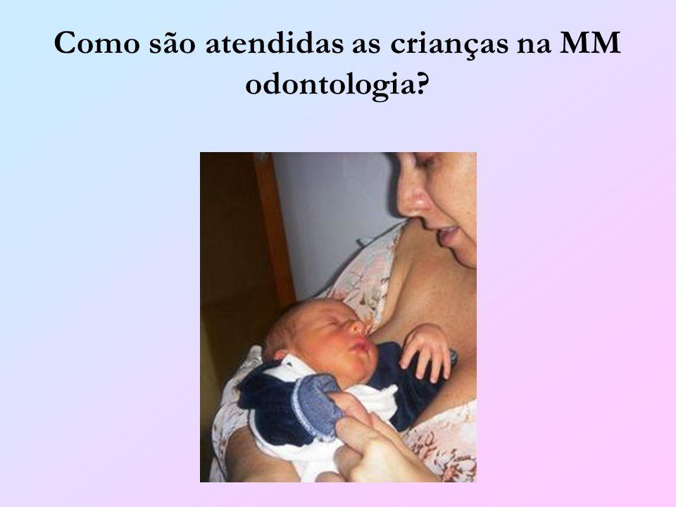Como são atendidas as crianças na MM odontologia?