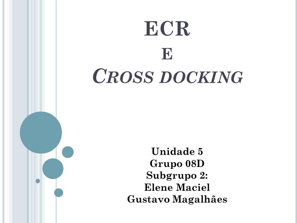 ECR E C ROSS DOCKING Unidade 5 Grupo 08D Subgrupo 2: Elene Maciel Gustavo Magalhães