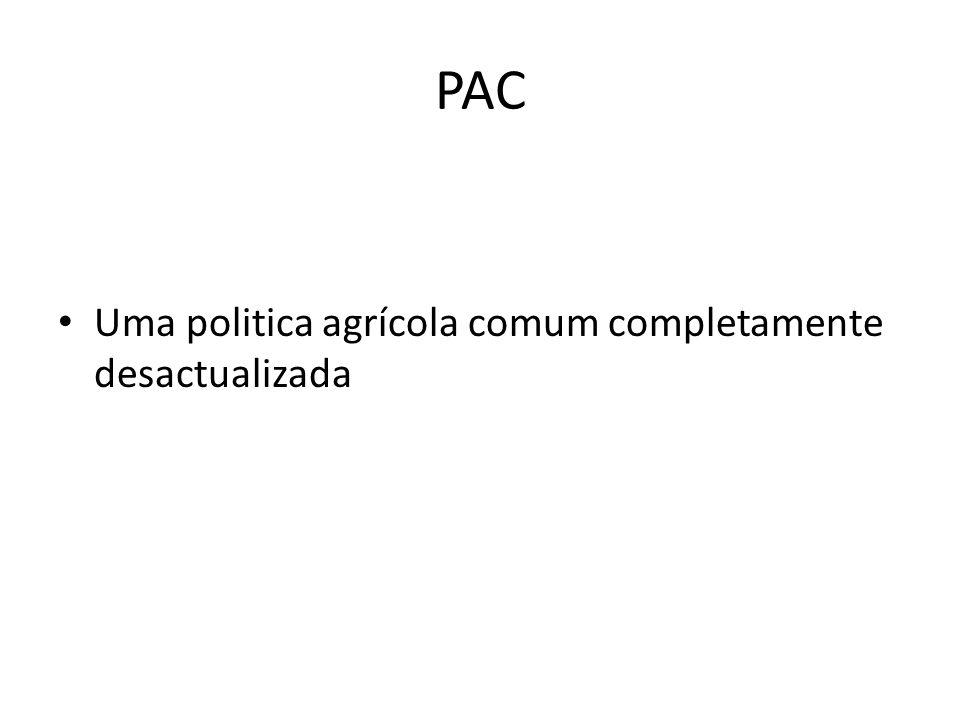 PAC Uma politica agrícola comum completamente desactualizada