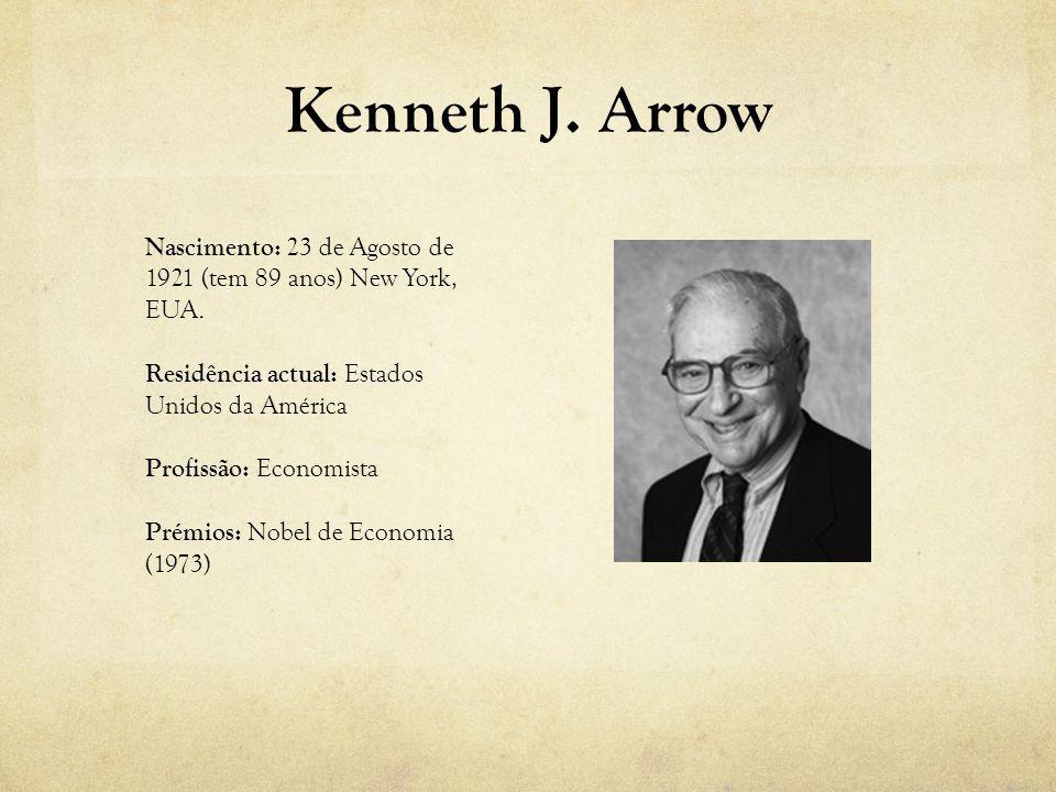 Nascimento: 23 de Agosto de 1921 (tem 89 anos) New York, EUA. Residência actual: Estados Unidos da América Profissão: Economista Prémios: Nobel de Eco