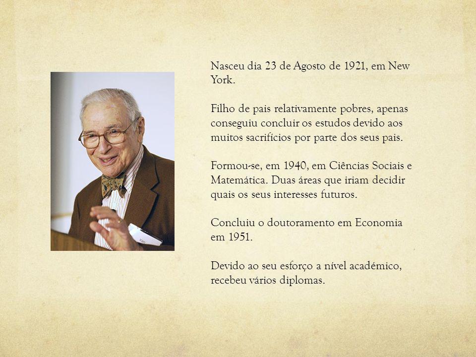 Nasceu dia 23 de Agosto de 1921, em New York. Filho de pais relativamente pobres, apenas conseguiu concluir os estudos devido aos muitos sacrifícios p