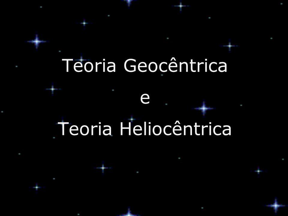 Teoria Geocêntrica e Teoria Heliocêntrica