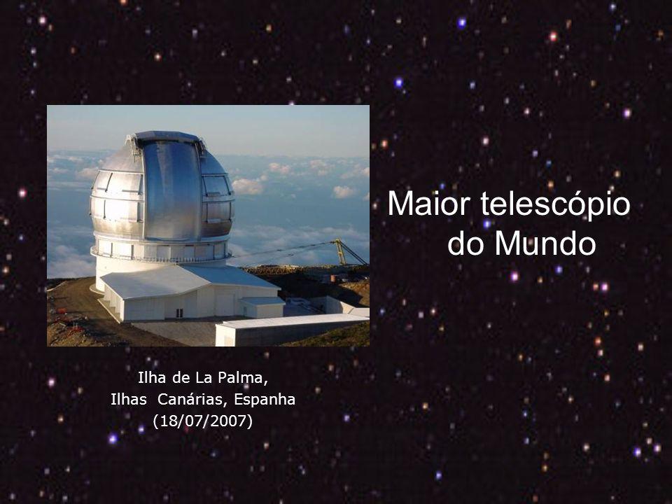 Ilha de La Palma, Ilhas Canárias, Espanha (18/07/2007) Maior telescópio do Mundo