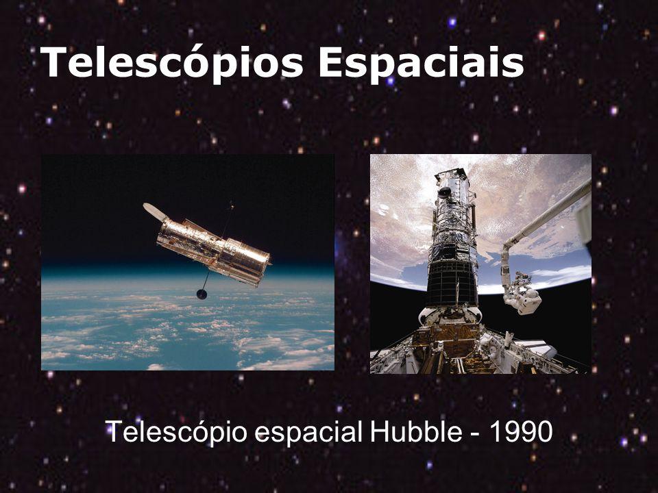 Telescópios Espaciais Telescópio espacial Hubble - 1990
