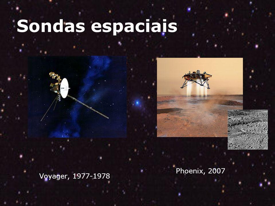 Sondas espaciais Phoenix, 2007 Voyager, 1977-1978