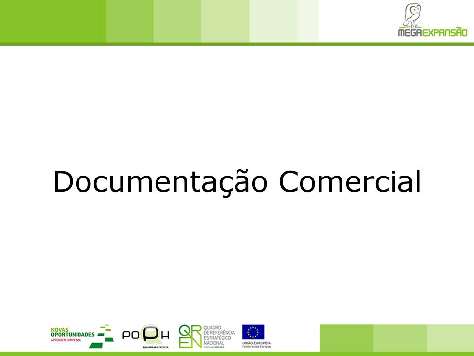 Documentação Comercial