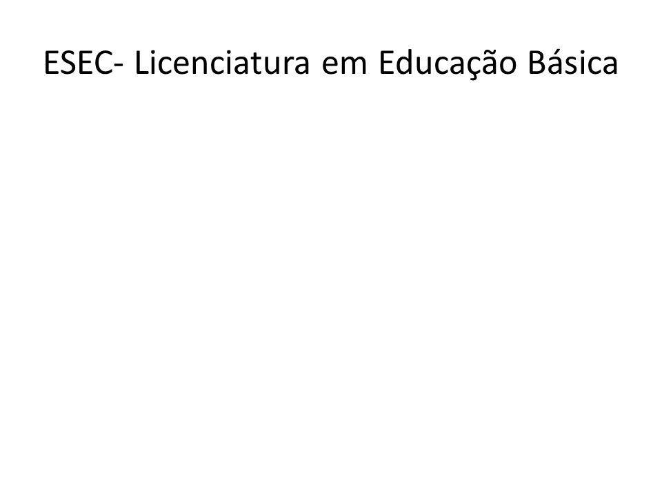 ESEC- Licenciatura em Educação Básica