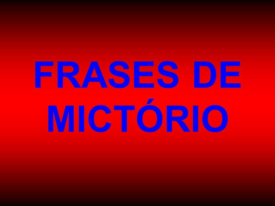 FRASES DE MICTÓRIO