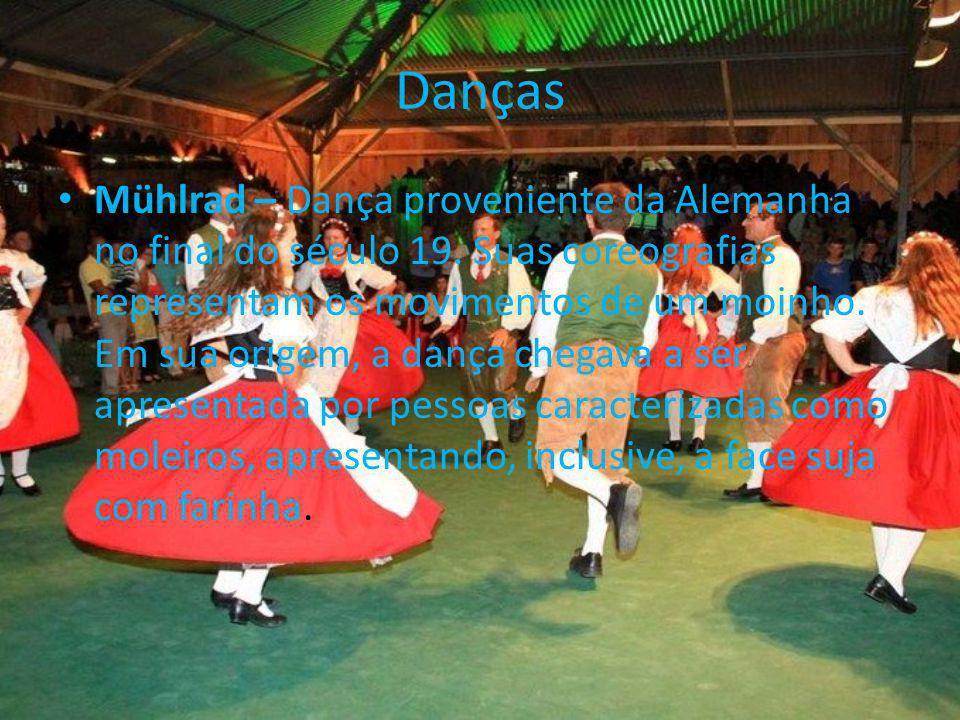 Danças Mühlrad – Dança proveniente da Alemanha no final do século 19.