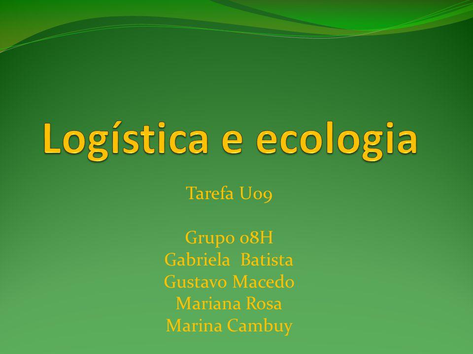 Logística+Ecossitesma= Ecologística Com a revolução industrial e a era tecnológica, o homem passou a jogar toneladas de poluentes no meio ambiente.