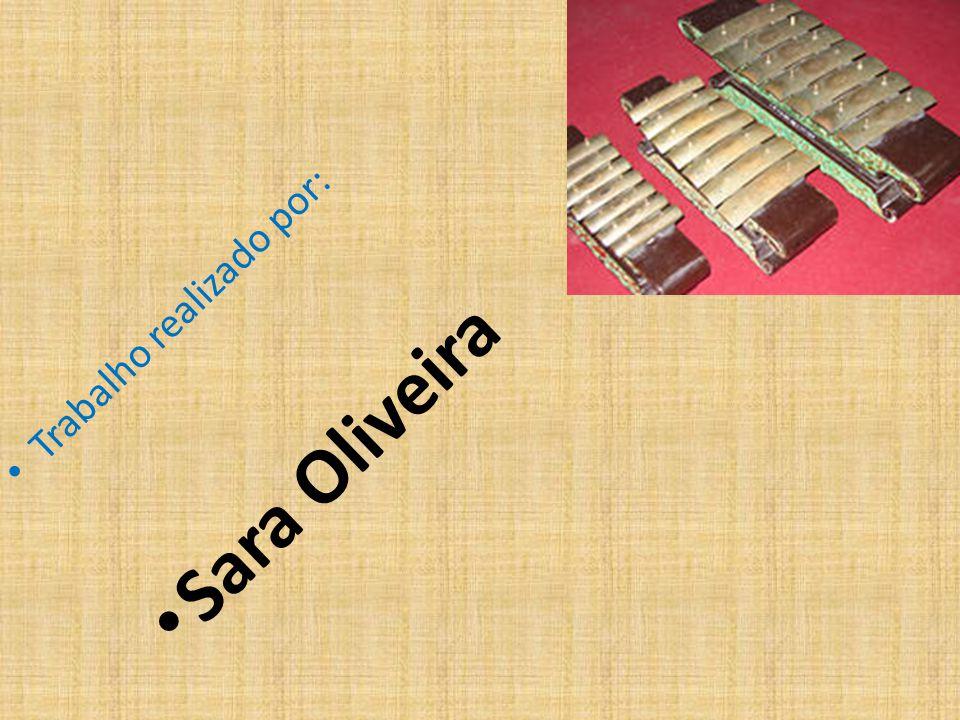 Trabalho realizado por: Sara Oliveira