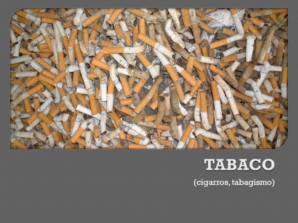 (cigarros, tabagismo)