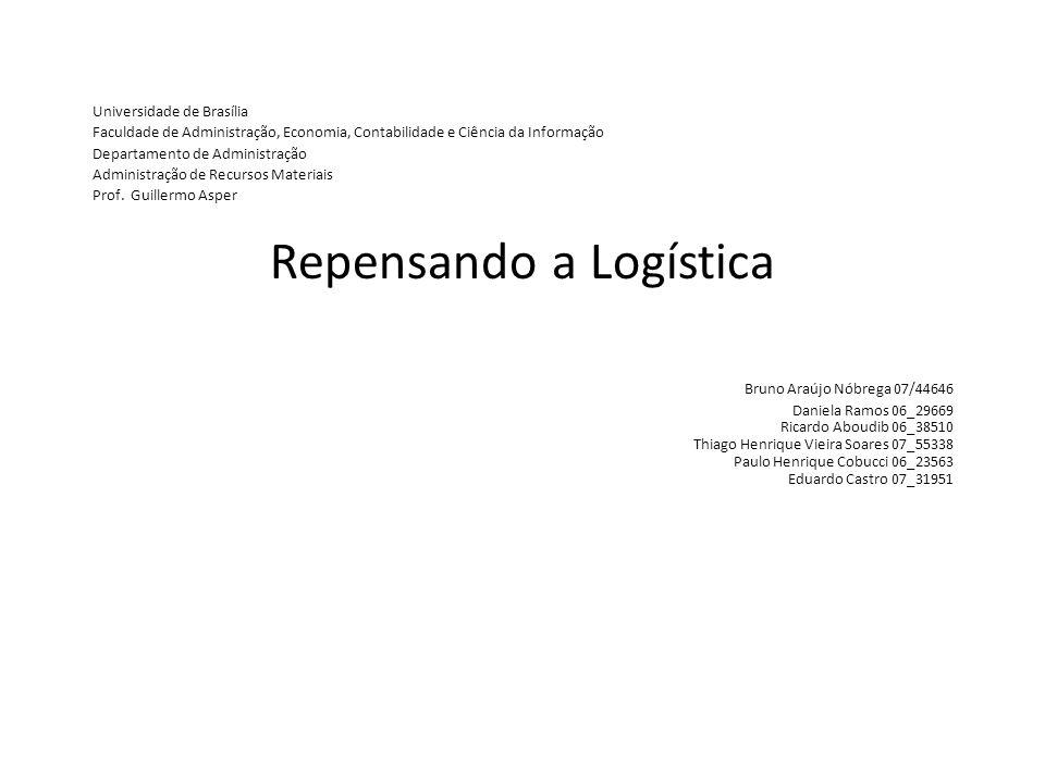 Universidade de Brasília Faculdade de Administração, Economia, Contabilidade e Ciência da Informação Departamento de Administração Administração de Recursos Materiais Prof.