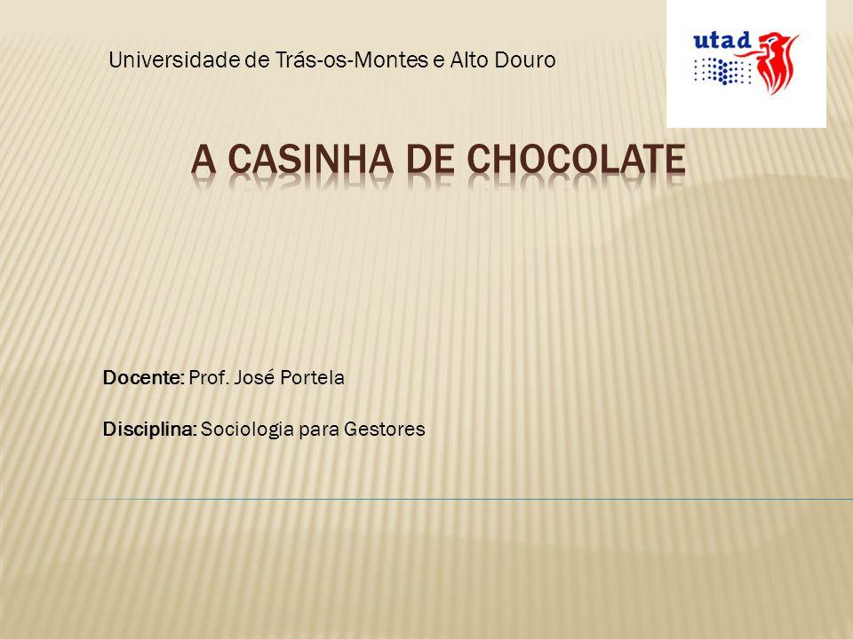 Universidade de Trás-os-Montes e Alto Douro Docente: Prof. José Portela Disciplina: Sociologia para Gestores