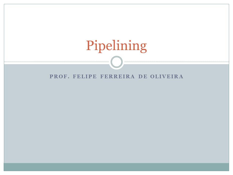 Problemas no Pipeline PROBLEMAS ESTRUTURAIS Quando um processador usa pipeline, a execução sobreposta de instruções requer pipelining de unidades funcionais e duplicação de recursos para permitir que todos os possíveis combinações de instruções no pipeline.