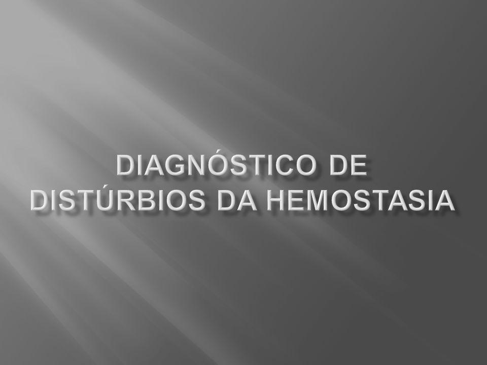 Plasma alterado Plasma normal 1:1 Normalização Deficiência de fatores Exame alterado Inibidor Inibidor Após 2h 37 o C