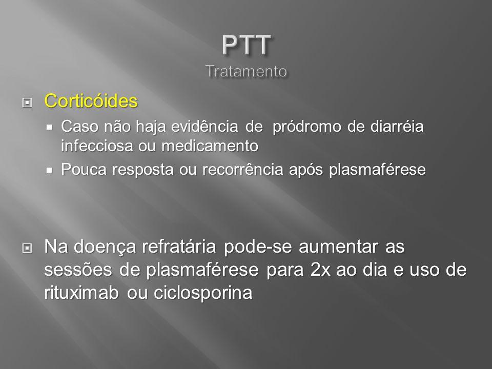 Corticóides Corticóides Caso não haja evidência de pródromo de diarréia infecciosa ou medicamento Caso não haja evidência de pródromo de diarréia infe