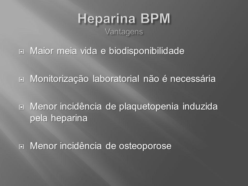 Maior meia vida e biodisponibilidade Maior meia vida e biodisponibilidade Monitorização laboratorial não é necessária Monitorização laboratorial não é