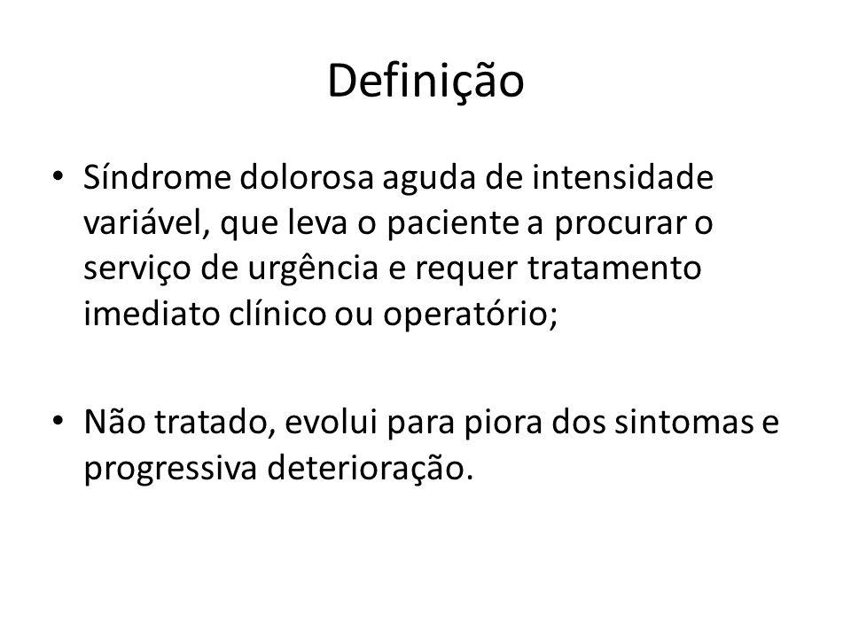 Classificação Perfurativo Inflamatório Obstrutivo Hemorrágico Vascular (Isquêmico)