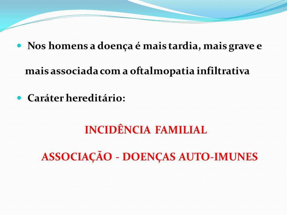 Tireoidite de Hashimoto Anemia perniciosa DM 1 Miastenia gravis Artrite reumatóide Doença de Addison Síndrome de Sjogren Púrpura trombocitopênica idiopática