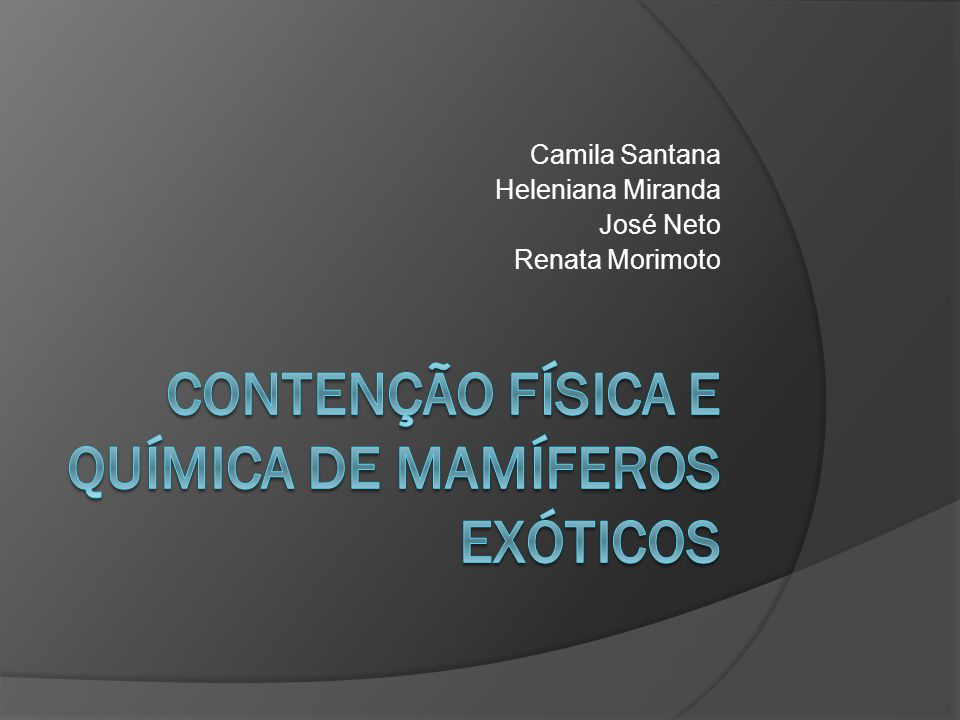 Camila Santana Heleniana Miranda José Neto Renata Morimoto