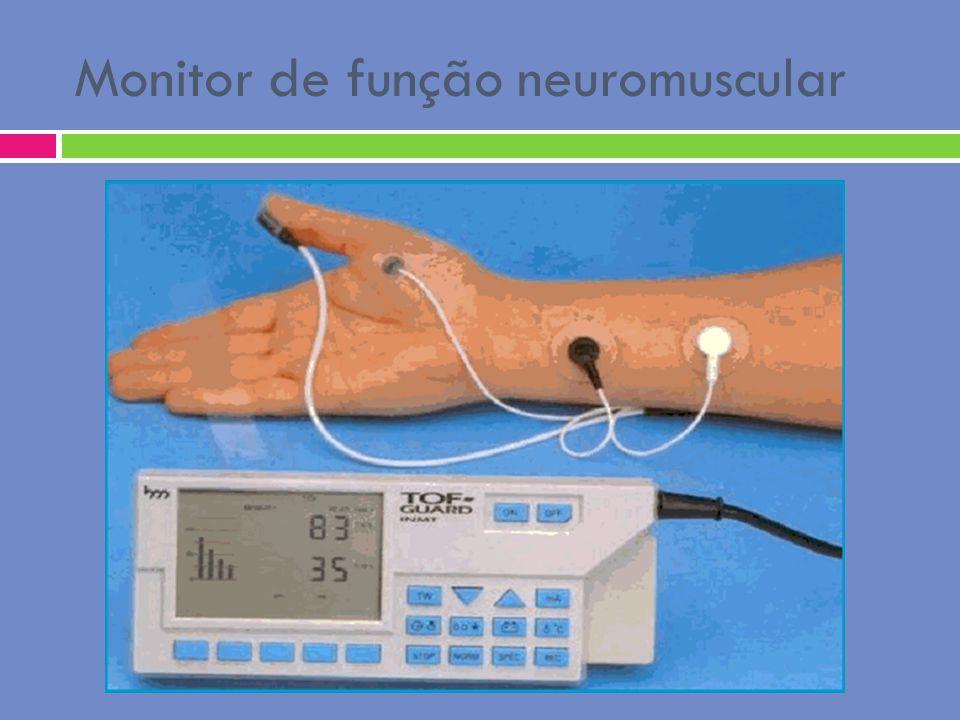 Monitor de função neuromuscular