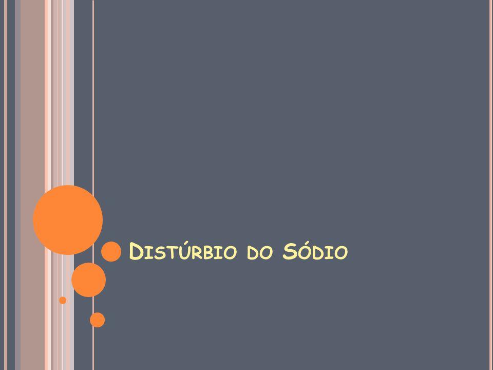 D ISTÚRBIO DO S ÓDIO