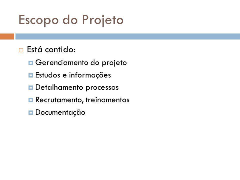 Plano de Gestão de Tempos do Projeto Cronograma: principal técnica de programação de trabalho PERT e COM Gerenciam integrando tempo, custo e recursos humanos alocados no projeto Exemplos: MS-Project e Superproject