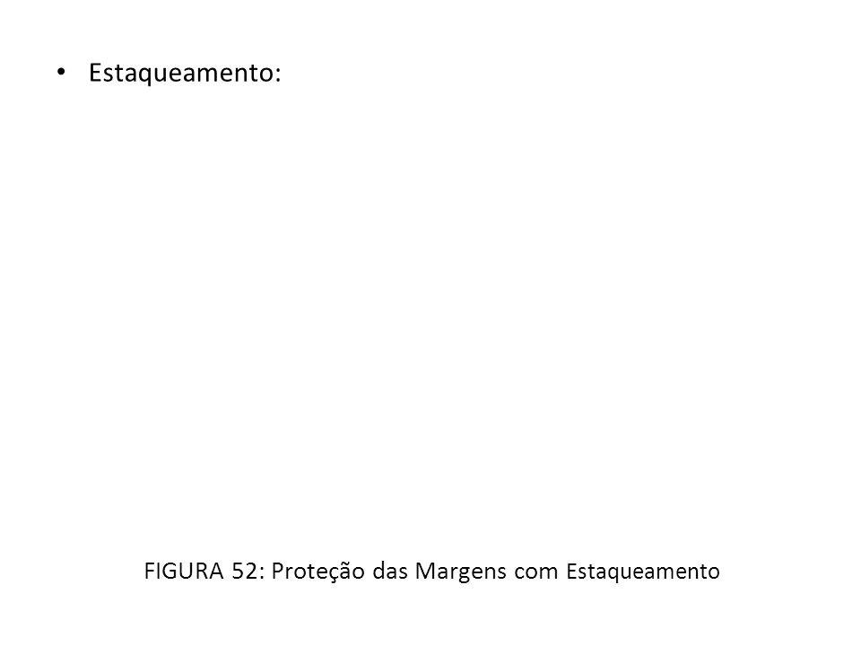 Estaqueamento: FIGURA 52: Proteção das Margens com Estaqueamento