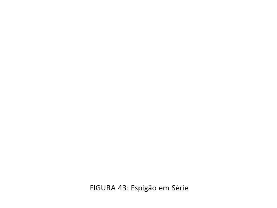 FIGURA 43: Espigão em Série