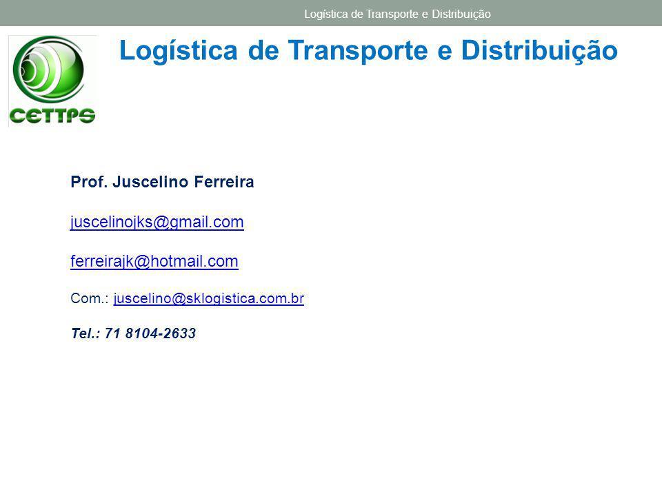 2.3 – PARTICIPANTES NAS DECISÕES DE TRANSPORTE Logística de Transporte e Distribuição