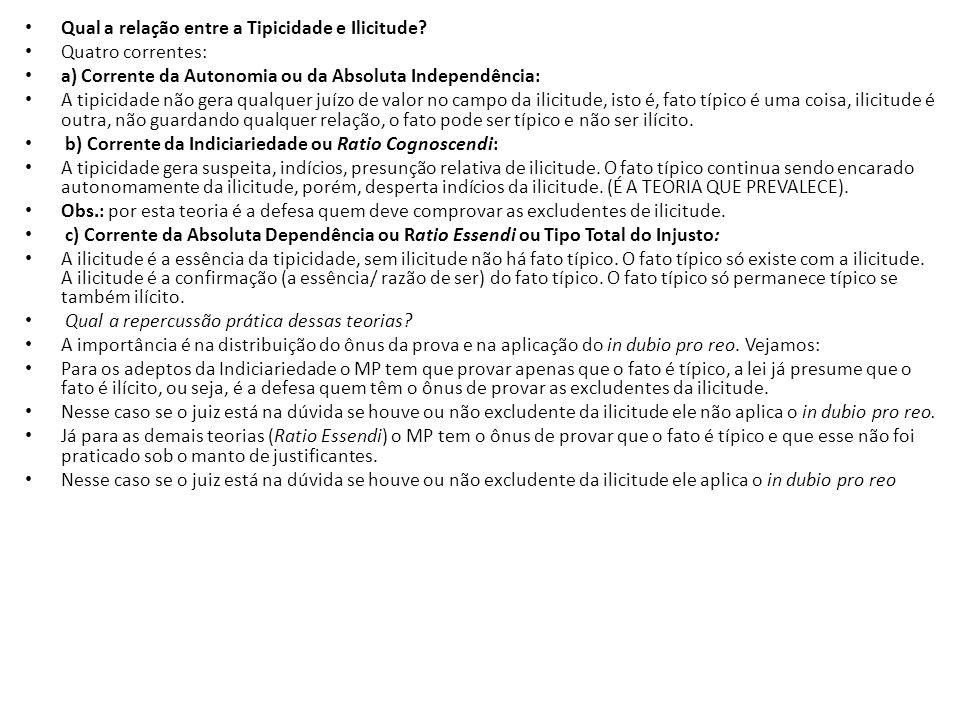 EXCLUDENTES DE ILICITUDE (JUSTIFICANTES, DESCRIMINANTES) As justificantes encontram-se espalhadas na legislação brasileira: – Na parte geral do CP estão no art.