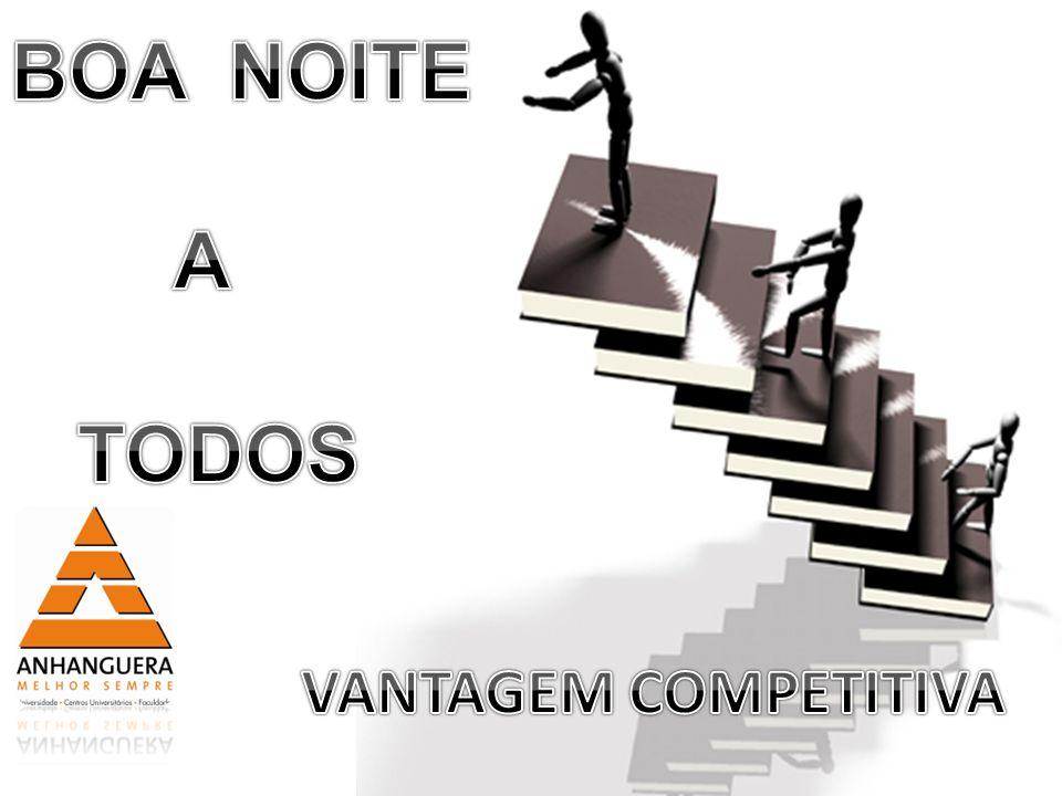 A 20 anos o termo concorrência era mais utilizado do que vantagem competitiva.