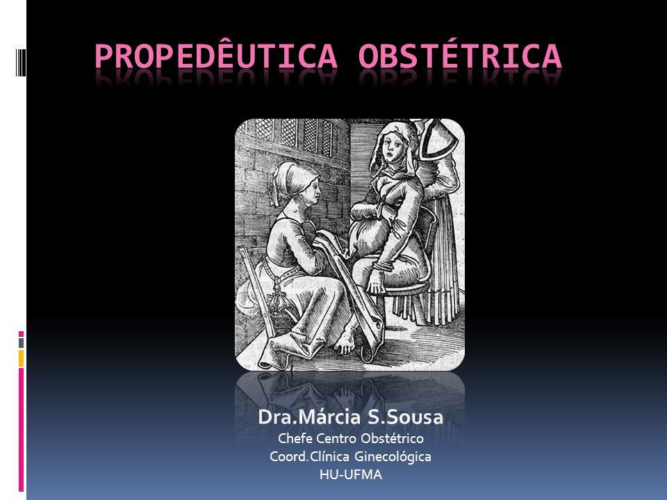 Dra.Márcia S.Sousa Chefe Centro Obstétrico Coord.Clínica Ginecológica HU-UFMA