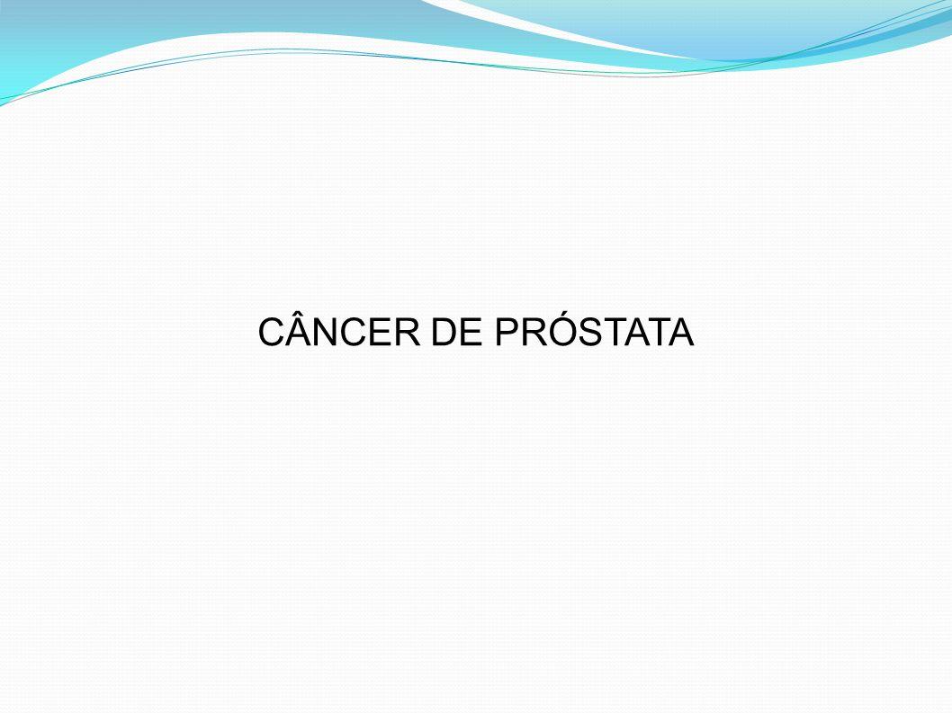 DIAGNÓSTICO TOQUE RETAL: – Alterações no TR significa CaP em 15 a 40% dos casos – Nódulo endurecido – Consistência endurecida / próstata pétrea – Diferenciar de HPB, cálculo prostático, TB, prostatite, flebólitos intestinais, pólipos ou tumores retais