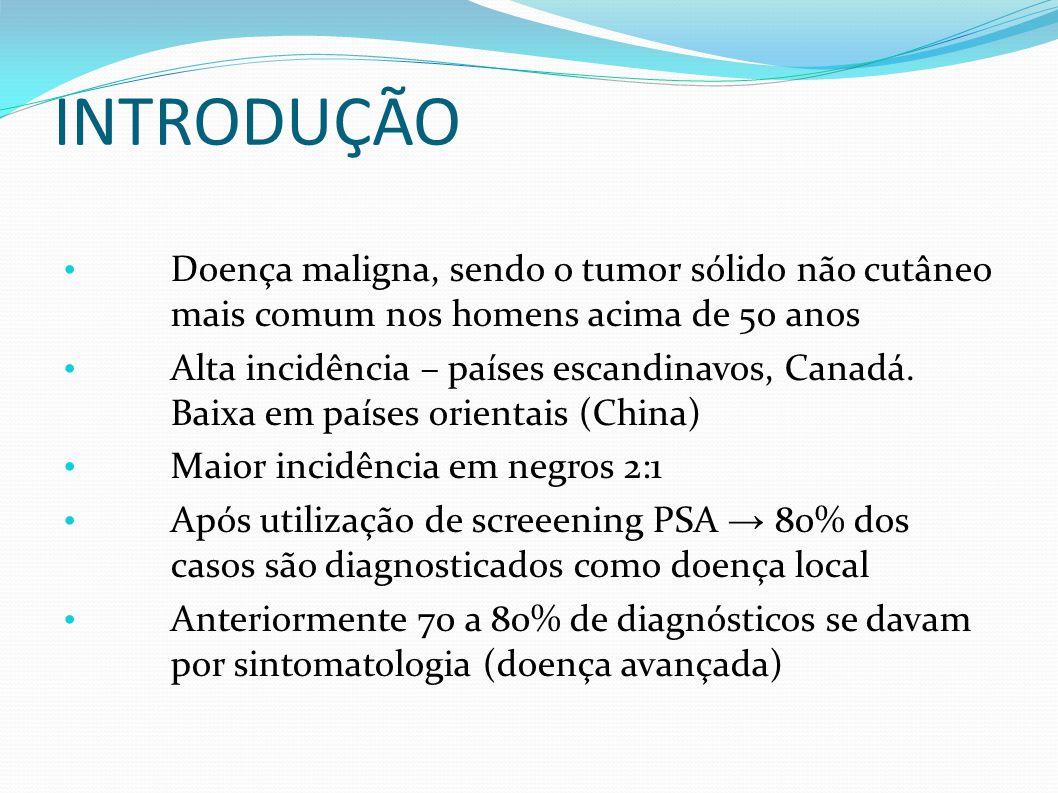 TRATAMENTO CIRÚRGICO RECIDIVA BIOQUÍMICA: – Após cirurgia de prostatectomia radical – Elevação do PSA > 0,2 ng/mL.