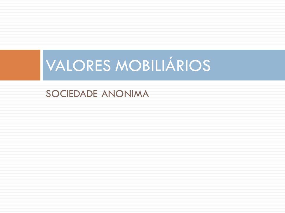 SOCIEDADE ANONIMA VALORES MOBILIÁRIOS