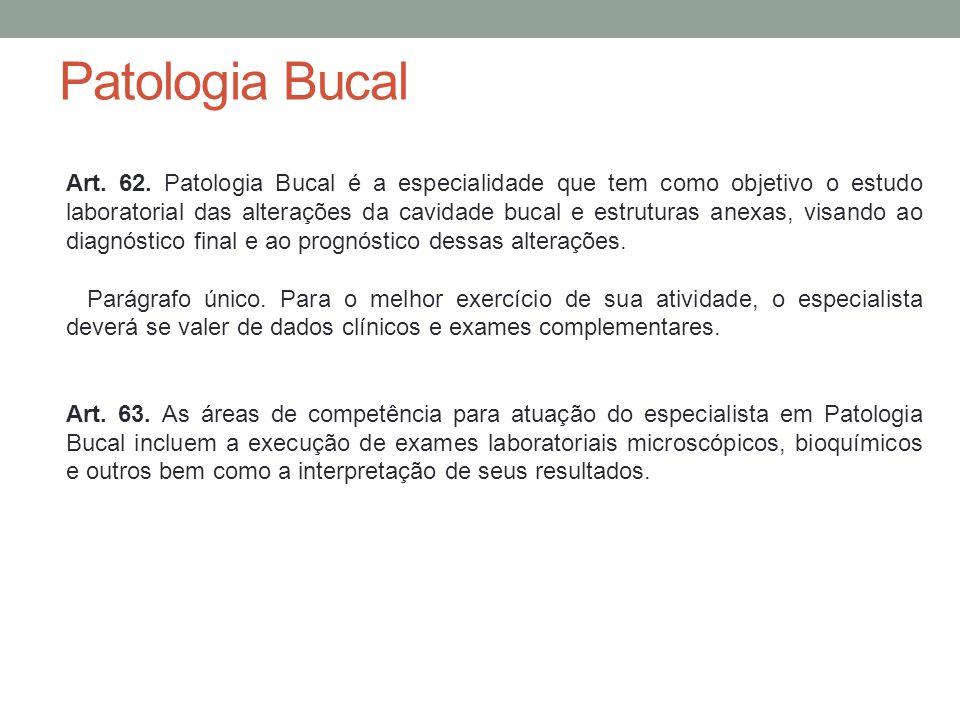 Patologia Bucal Art.62.