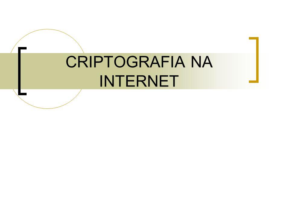 CRIPTOGRAFIA NA INTERNET