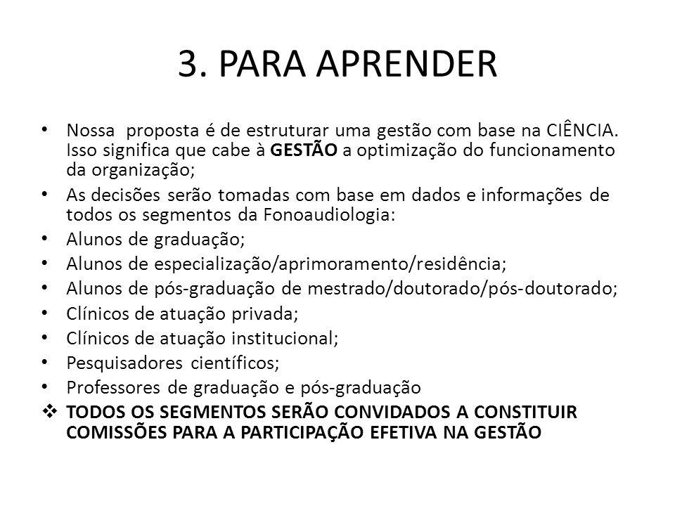 FONO.COM.CIÊNCIA fono.com.ciencia@gmail.com Missão _______________________ Promover o avanço da Fonoaudiologia Brasileira numa forte base científica Promover a colaboração entre os pares e entre os diferentes estratos de atuação profissional (alunos; clínicos, cientistas; empresários) Promover um ambiente seguro e cordial para o surgimento de novas idéias, estratégias e soluções Promover o crescimento da ciência e da pessoa que é o fonoaudiólogo Visão -------------------- Incentivar o fonoaudiólogo a trocar informações e conhecimento Agregar valor à ciência, à inovação e à qualidade Estimular jovens lideranças Aceitar desafios para crescer como ciência e como profissão Valores -------------------- Ética Qualidade Competência Integração Humanismo Capacitação