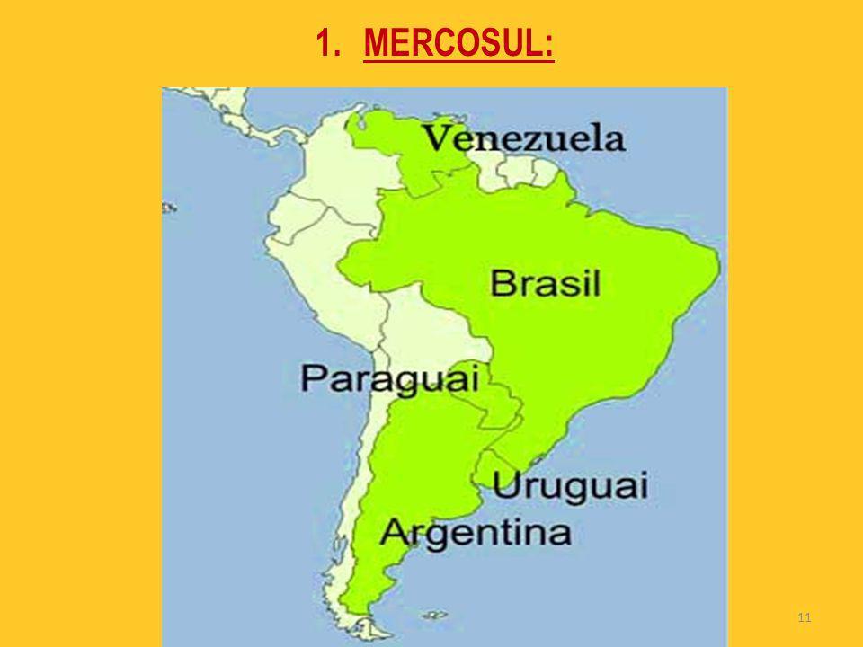 11 1.MERCOSUL: