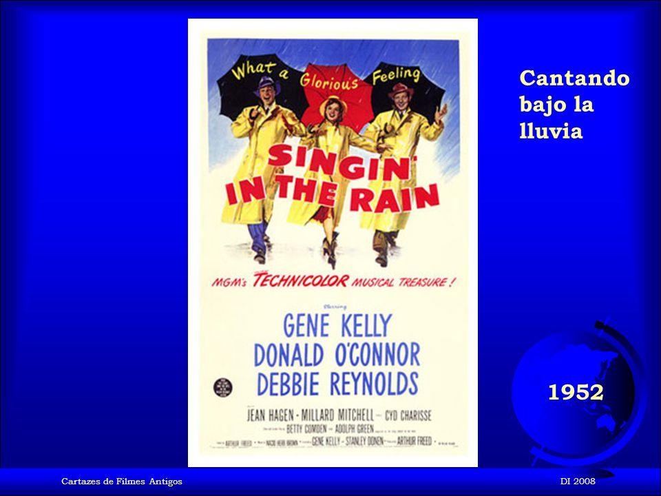 Cartazes de Filmes AntigosDI 2008 1952 Ivanhoe