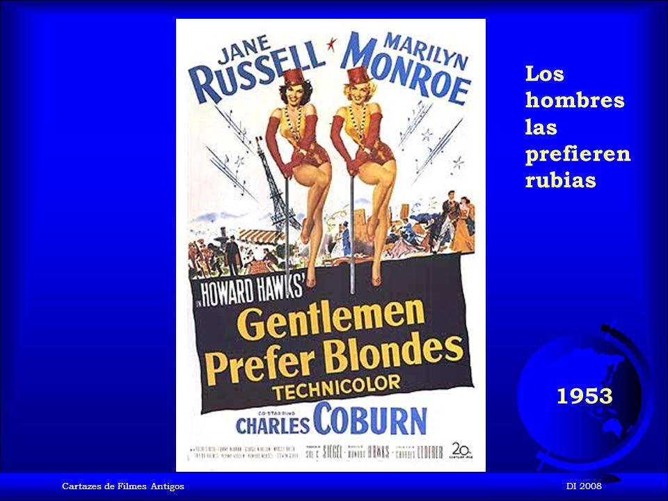 Cartazes de Filmes AntigosDI 2008 1952 Cantando bajo la lluvia